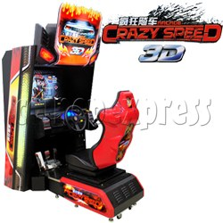 Crazy Speed 3D arcade machine