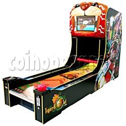 3D Tiger Bowling ticket machine