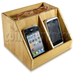 ECO-Friendly Bamboo Charger Station