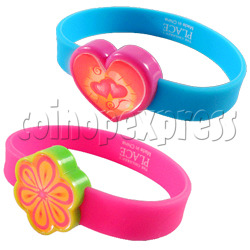 Glitter Power Silicone Wristbands