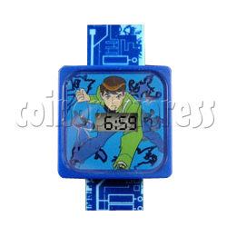 LCD Watch with LED night light