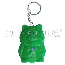 Green Pig Calculator Key Chain