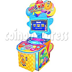 Clap and Win ticket machine