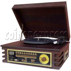 Multi-Functional Jukebox - CD Mp3 / Turntable / Cassette / Radio / USB player
