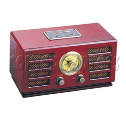 Wooden Radio Jukebox with USB/ SD/ MMC Card player