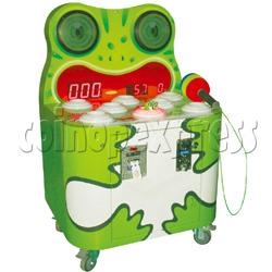 Happy Frog Hammer Game