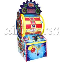 Super Wheel ticket machine