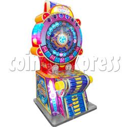 Through Time Wheel Game machine
