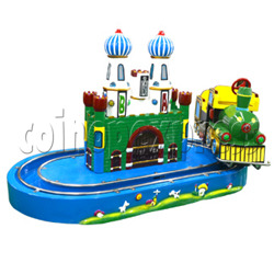 Castle Train Kiddie Ride