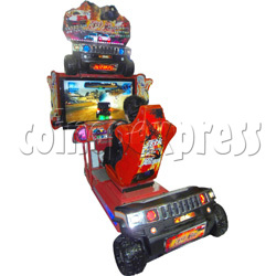 Crashing Car Racing machine