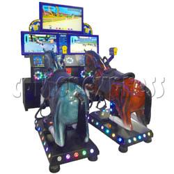 Go Go Jockey horse riding game (Twin)