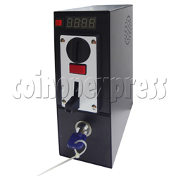 Coin Box Built-in Timer board and Coin Selector 4 type coins