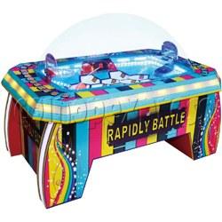 Rapidly Battle Balls Jumping Basket (2 players)