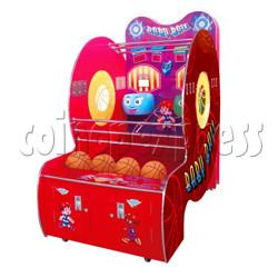 Baby Ball (2 hoops basketball machine)