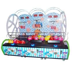 Mini Kids Basketball machine (3 hoops)