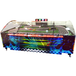 High Speed Table Slot Car Racing