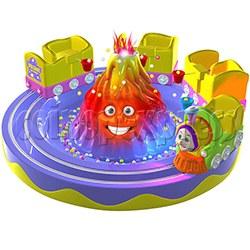 Volcanic Eruption Train Carousel (7 players)