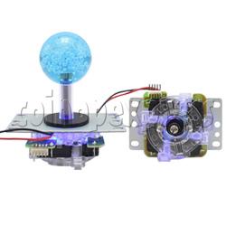 Illuminated Arcade Joystick (45mm bubble top)