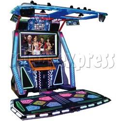 D Dance Master Dancing Game machine