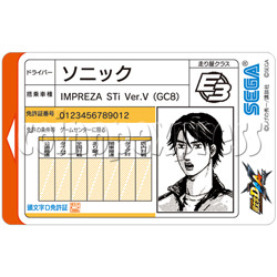 Memory Card for Initial D7 AA X