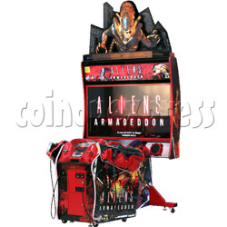 Aliens Armageddon Deluxe Shooting Arcade  Machine