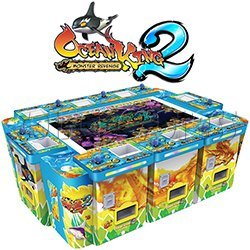 Ocean King 2 Fish Hunter Machine ( 8 players) - Monster's Revenge