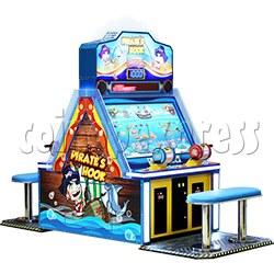 Pirate's Hook Video Fish machine 4 players