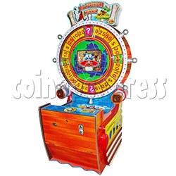 Big Adventure Winner Wheel Ticket Machine