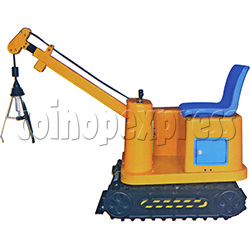Electric Hydraulic Cable Excavator with Grab Claw attachment