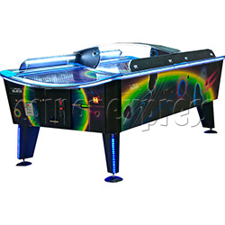 Storm Skate Air Hockey with Curved Playfield