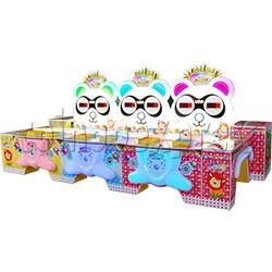 Panda Around Music Carnival Booth Game (6 players)