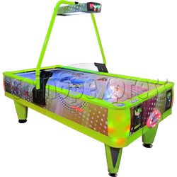 Top World Coin Operated Air Hockey ( 4 players)