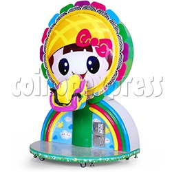 Mini Rainbow Flying Wheel Rotating Kiddie Ride