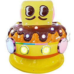 Chocolate Car Video Kiddie Ride (2 Players)
