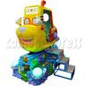 Ocean World Travel Video Kiddie Ride ( 360 degrees rotating car)