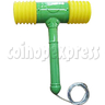 Green Solid Hammer for redemption game machine