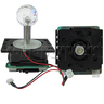 Illuminated Superior Joystick for Arcade Machine 28mm Diamond Ball Top