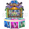 Dragon Wars Upright Cabinet with Video Game Ticket Redemption Machine (3 players)