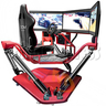 3 Fold Screen Virtual Reality Driving Car Arcade Game Machine
