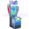 Sharky shark 55 inch Ticket Redemption Arcade Game machine