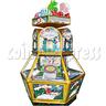 Las Vegas Coin Pusher Ticket Redemption Arcade Machine 6 Players