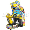 Pleasant Goat and Big Big Wolf Kart Racing Game Machine
