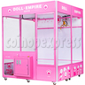 Doll Empire Giant Claw Crane Machine - 1 Player