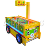Bus Air Hockey Ticket Redemption Machine