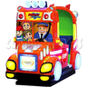 Rocket School Bus Kids Driving Machine