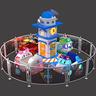 Poli Plane Park Ride (8 players)