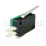 3 Terminals Microswitch with Auxiliary Actuator