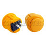 27mm Round Momentary Contact Push Button with Clipper