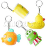 Squeeze Key Rings