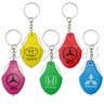 Car Wheel Light-up Key Rings